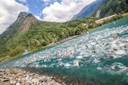 start alpe d'Huez Triathlon Vaujany
