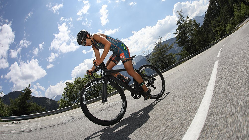 Anna Noguera Alpe d'Huez 21 virages