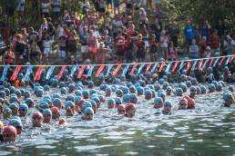Alpe d'Huez Triathlon natation