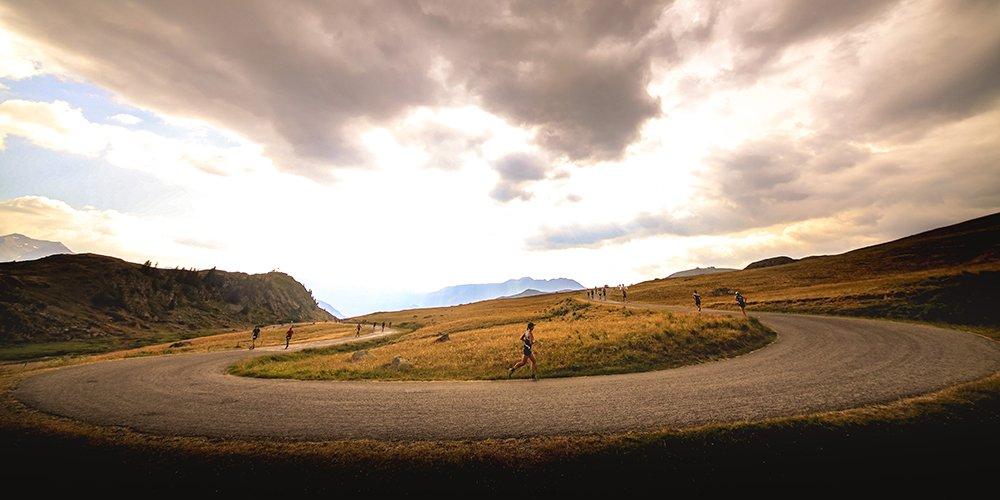 Alpe d'Huez triathlon run