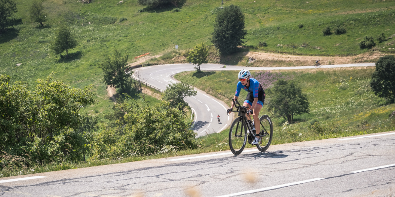 21 virages Triathlon L Alpe d'Huez