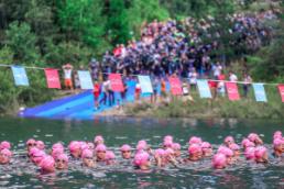 Le Lac du Verney, site EDF et terrain de jeu du Triathlon de l'Alpe d'Huez